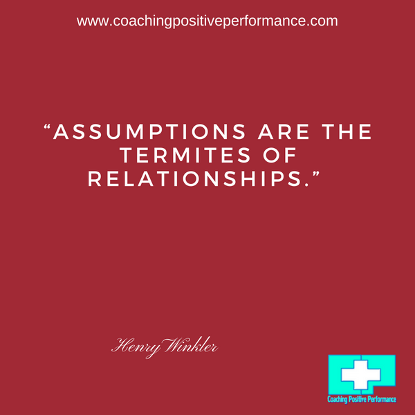 assumptions essential communication skills