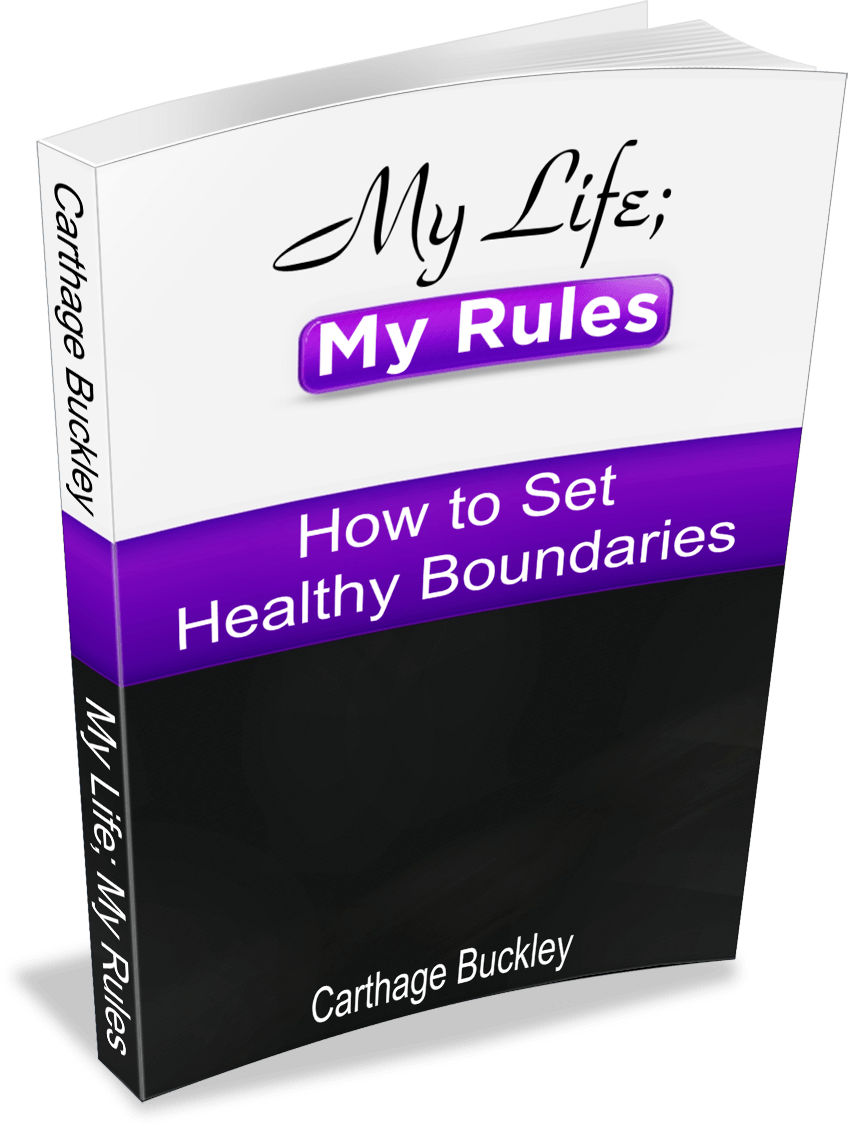 My Life My Rules How to Set Healthy Boundaries ebook 3d Transparent