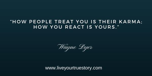 Just Let Go Wayne Dyer Reaction