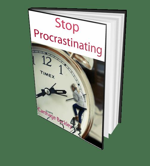 Stop Procrastinating 3D Right