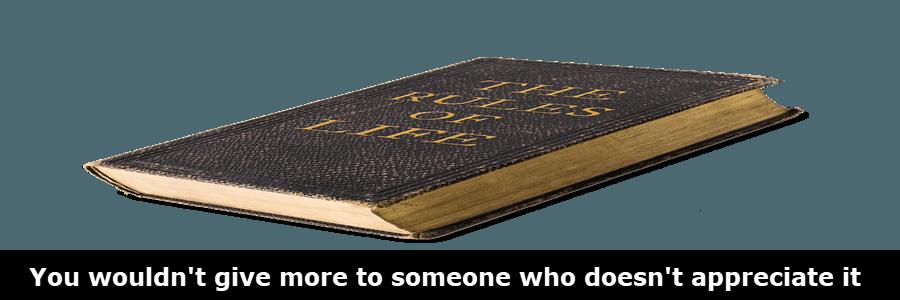 unwritten-rules-for-life-appreciate